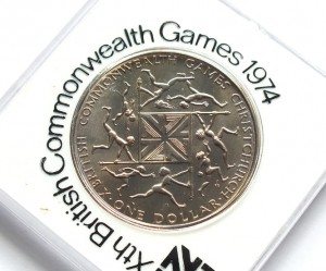 1 dollar Xth British Commonwealth Games 1974