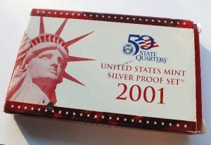 United States Mint Silver proof 2011