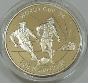 300 Ngultrum World Cup 94 BHUTAN