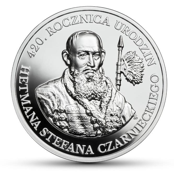 Znalezione obrazy dla zapytania monety kolekcjonerskie 420 lat czarniecki